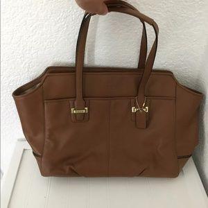 Coach Taylor Leather Alexis Carryall Handbag NWT